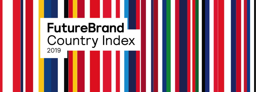 Cartel de futurebrand Index 2019